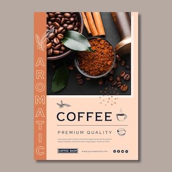 Kaffeeplakat in premiumqualität