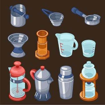 Kaffeestube barista ausrüstung