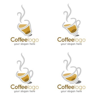 Kaffeetasse heißes warmes ladenlogo