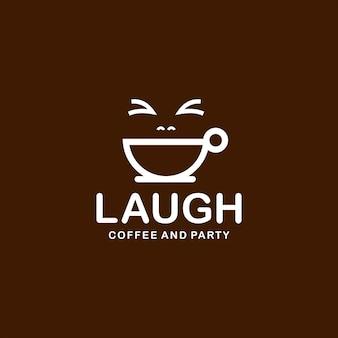 Kaffeetasse logo einfache moderne strichzeichnungen