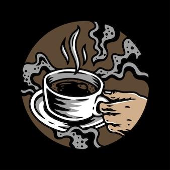 Kaffeezeit illustration