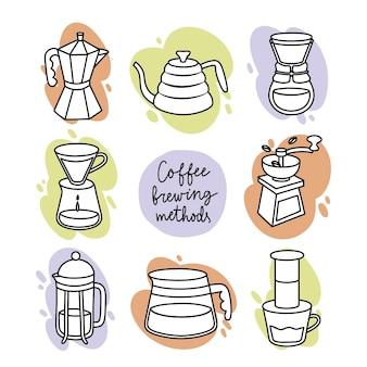 Kaffeezubereitungsmethoden