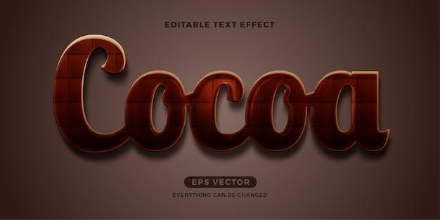Kakaotext-effekt