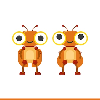 Kakerlakenroboter-zeichensatz
