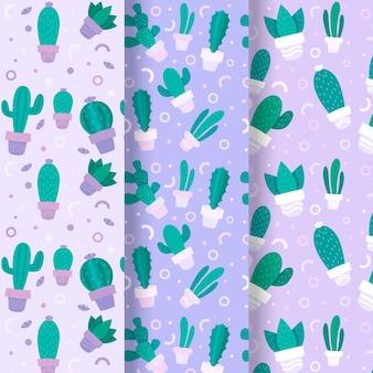 Kaktusmustersammlung