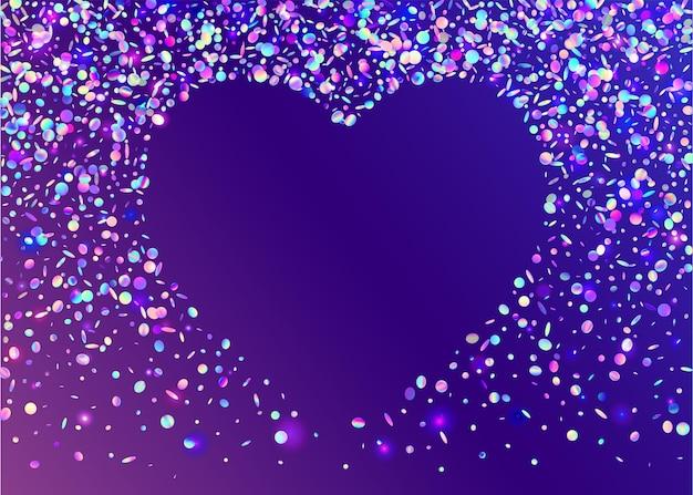 Kaleidoskop blendung. glamour-folie. kristallstruktur. bokeh-hintergrund. retro-flare. lila glänzender effekt. prismatische serpentine verwischen. festliche kunst. rosa kaleidoskop blendung