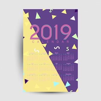 Kalender 2019 vorlage