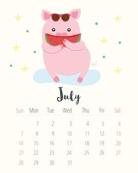 Kalender 2019.