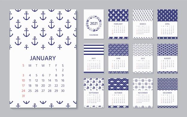 Kalender 2021.