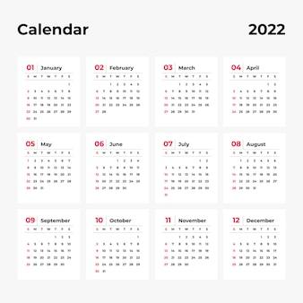 Kalender 2022 vorlage