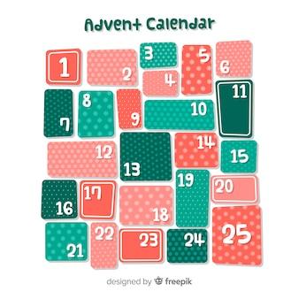 Kalender adventskalender