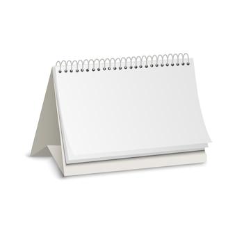 Kalender des leeren papiers