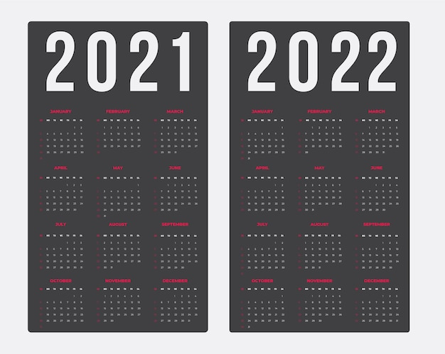Kalender für 20212022