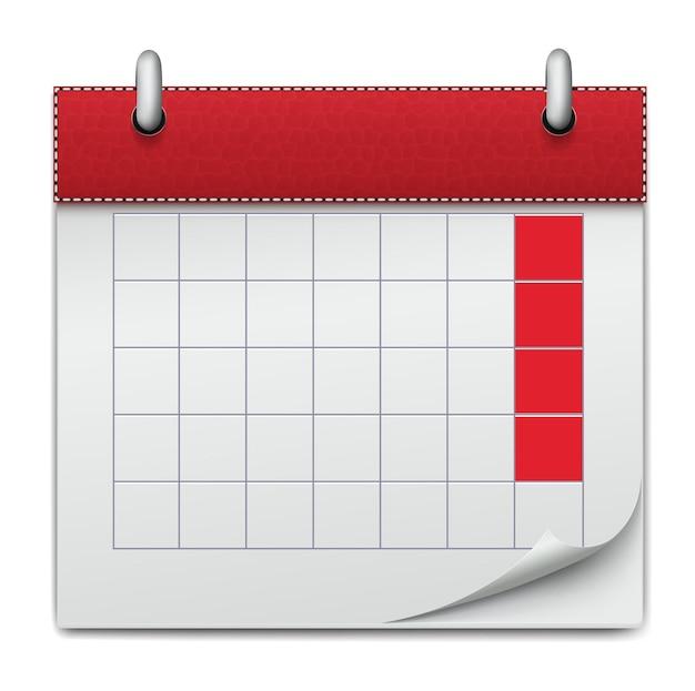 Kalender notizbuch geschäft der planung