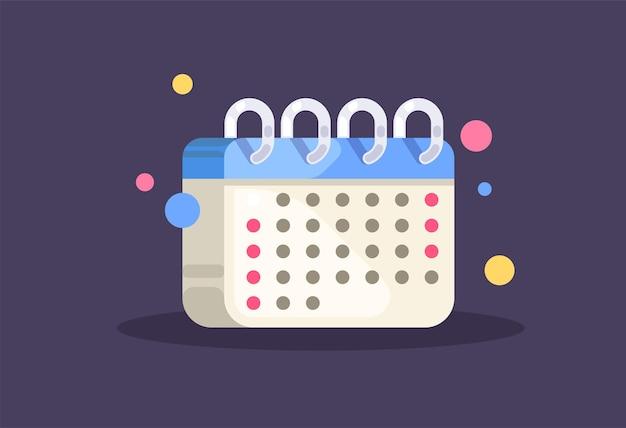 Kalender. planung, geschäftskonzept.