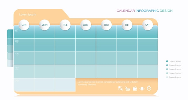 Kalender stock illustration geschäftskalender kalender datumssymbol
