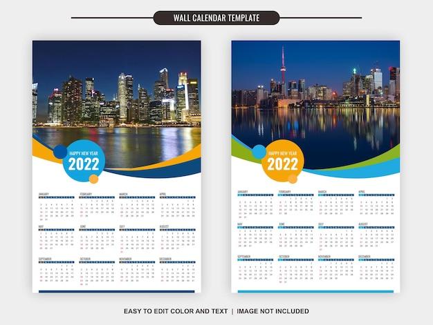 Kalender2022vorlageneinfachelegant