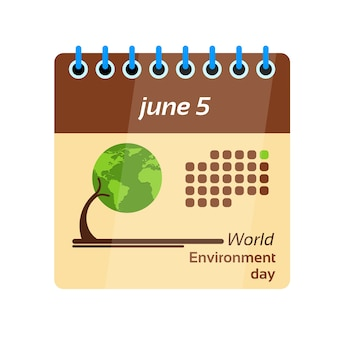 Kalenderblatt weltumwelttag