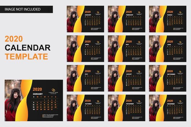 Kalendervorlage 2020