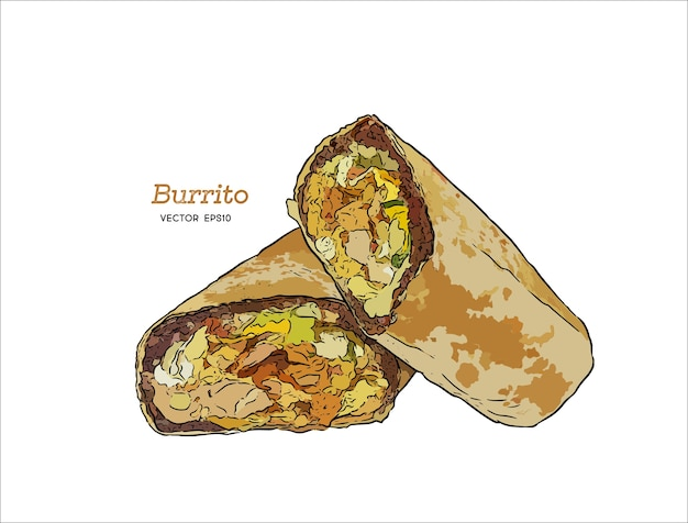 Kalifornien burrito