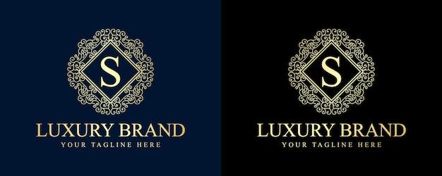 Kalligraphisches weibliches blumenschönheitslogo handgezeichnetes heraldisches monogramm im antiken vintage-stil luxusdesign geeignet für hotelrestaurant café café spa schönheitssalon luxus boutique kosmetik