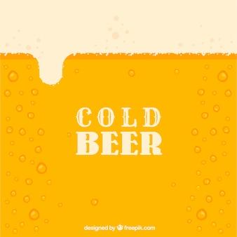 Kalte bier hintergrund