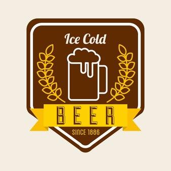 Kaltes bier