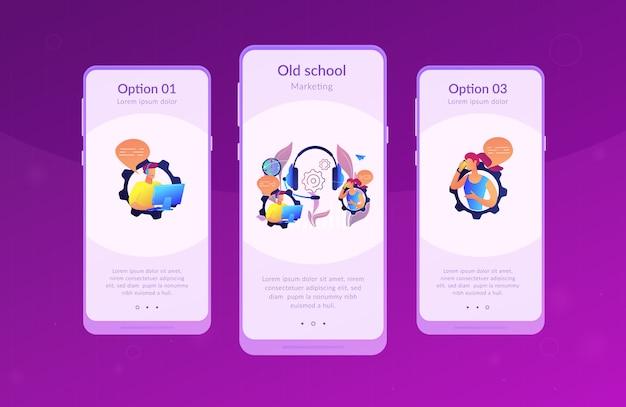 Kaltruf app-interface-vorlage