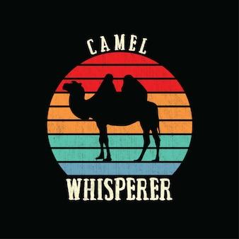 Kamel sillhouete
