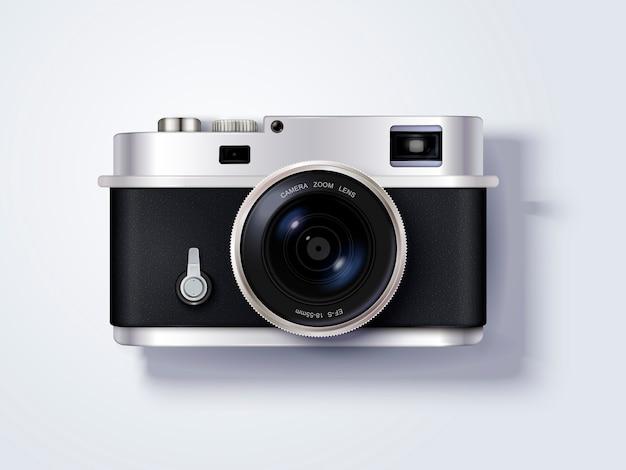 Kamera, empfindliche kamera in der abbildung, draufsicht