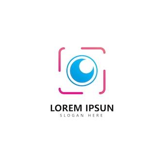 Kamera-fotografie-logo-symbol-vektor-vorlage Premium Vektoren