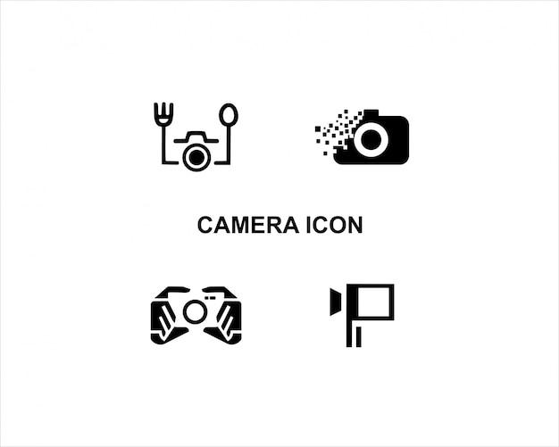 Kamera-ikonen-vektor