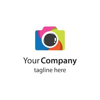 Kamera-logo-bildillustrationsdesign