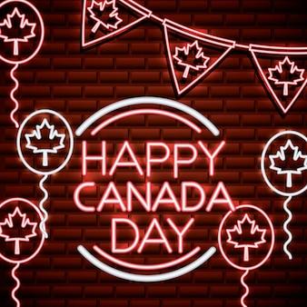 Kanada-tag neon