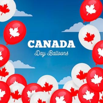 Kanada-tageshintergrund