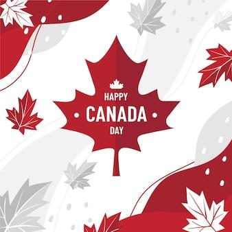 Kanada-tagesillustration