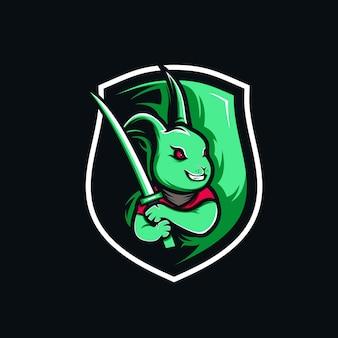 Kaninchen-logo-spiel
