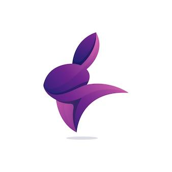 Kaninchen moderne illustration