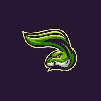 Kaninchen sport logo