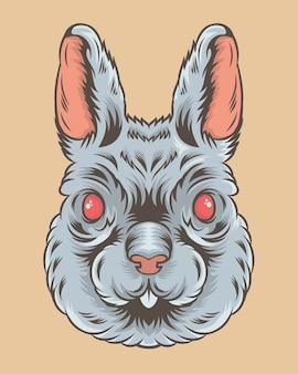 Kaninchenillustration
