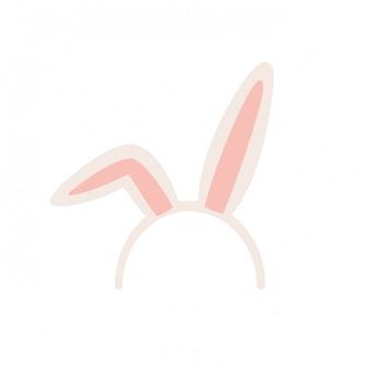 Kaninchenohren isoliert symbol