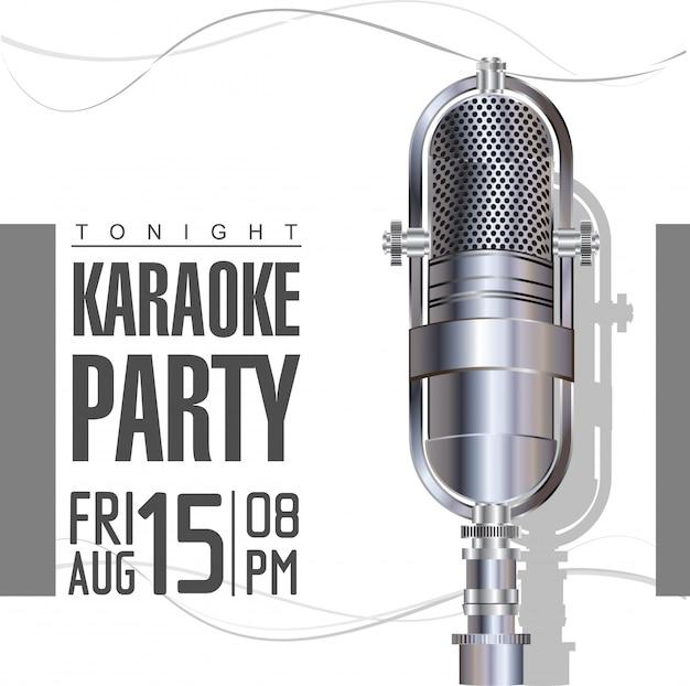Karaoke-hintergrund