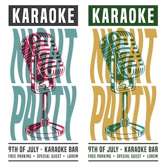 Karaoke-nachtparty