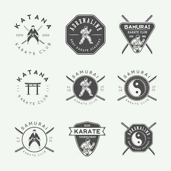 Karate-emblem, abzeichen