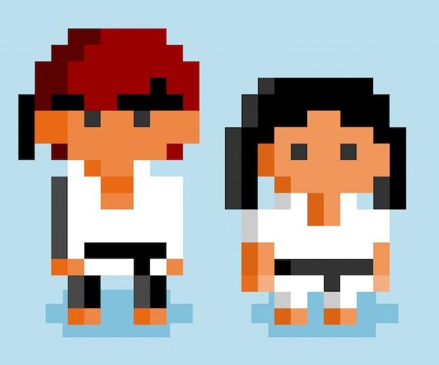 Karate-kämpfer