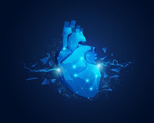 Kardiologie-konzept
