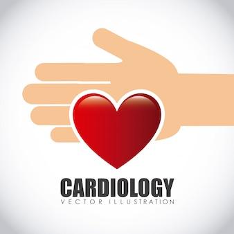 Kardiologie-symbol