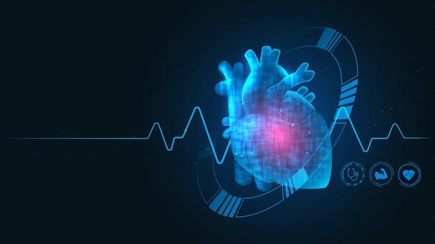 Kardiologie-technologie