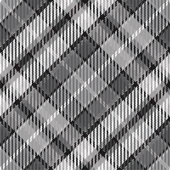 Kariertes muster nahtlos. überprüfen sie die stoffstruktur. streifen quadratischer hintergrund.