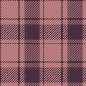 Kariertes tartan nahtloses muster im vektor für hemddruck, jacquardmuster, textilgrafiken